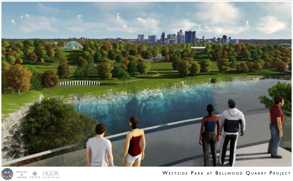 Westside Park at Bellwood Quarry - Rendering 5