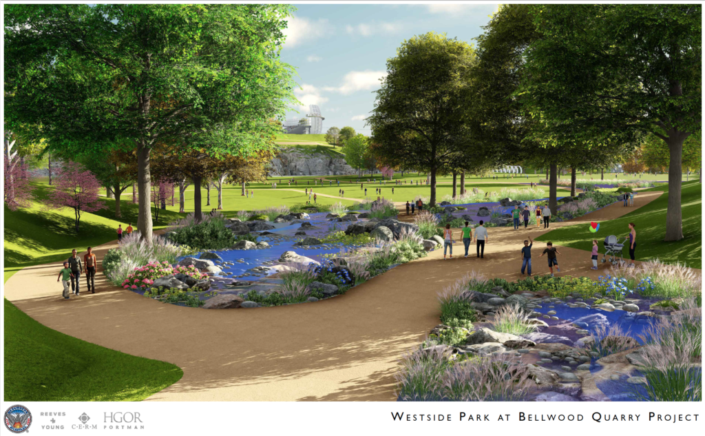 Westside Park at Bellwood Quarry - Rendering 7