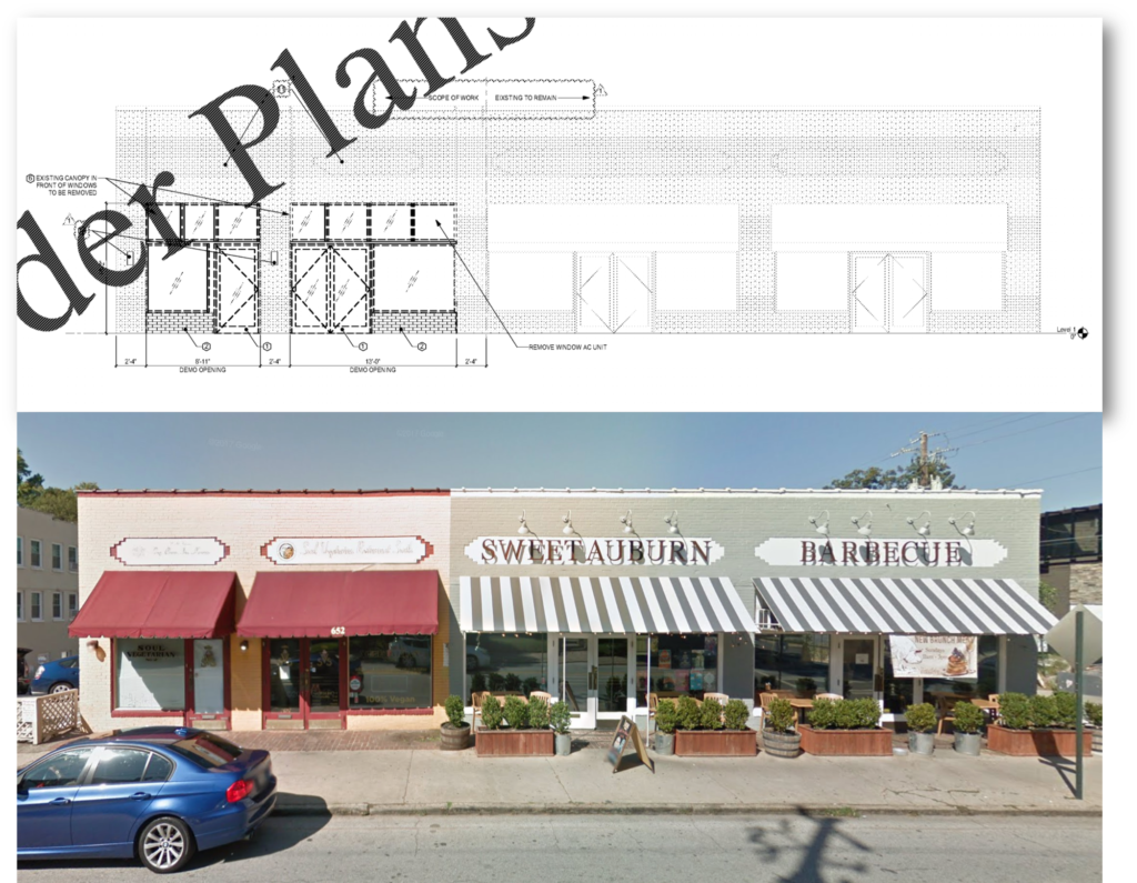 Lazy Betty Atlanta Site Plan