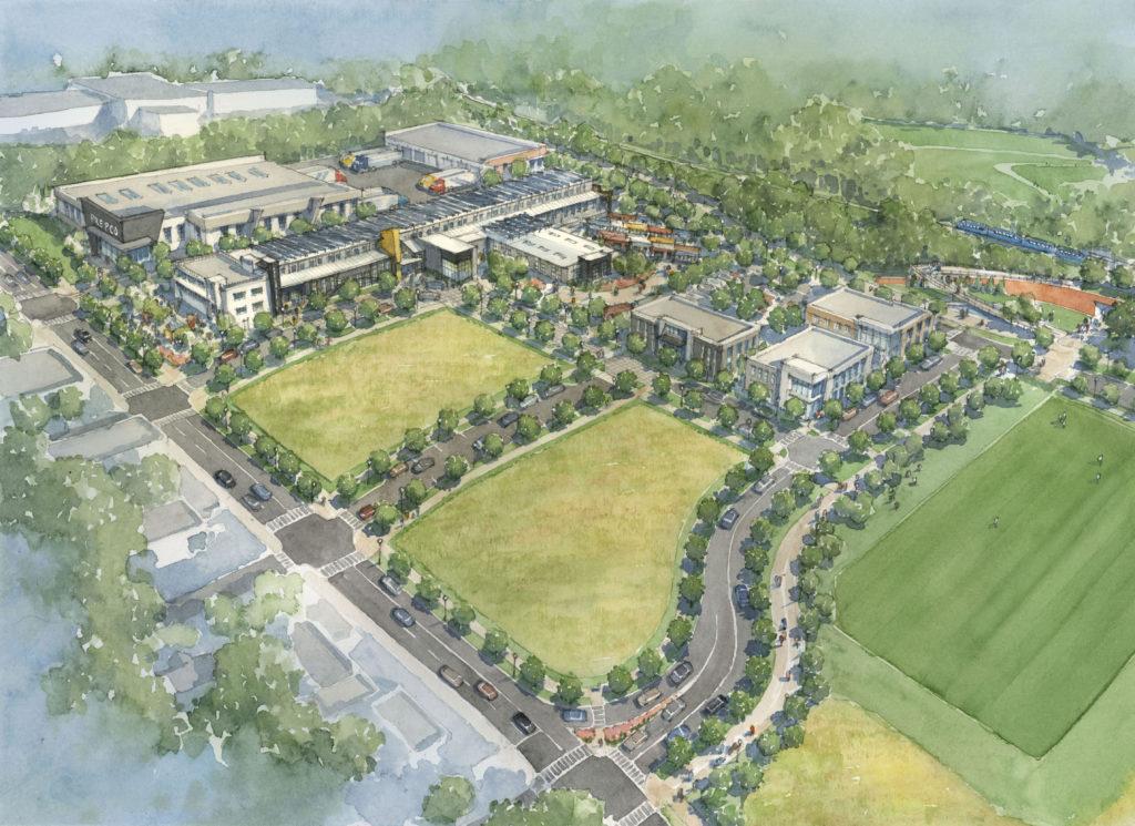 Pittsburg Yards Atlanta Rendering