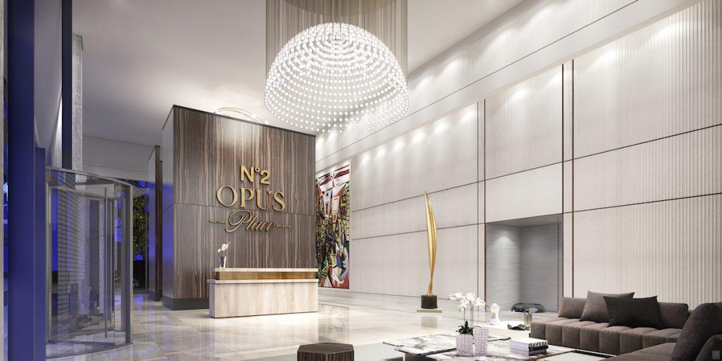 No2 Opus Place Lobby