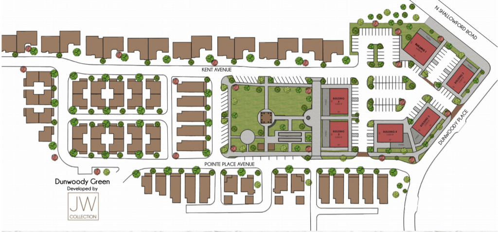 The Park at Georgetown - Dunwoody Green Site Plan