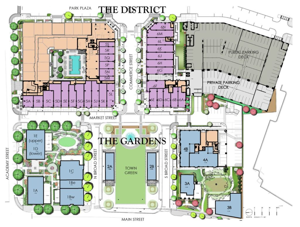 Alpharetta City Center - Site Plan