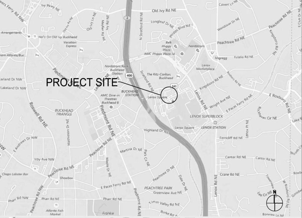 DaVinci's Donuts - Project Site - Lenox Square Mall