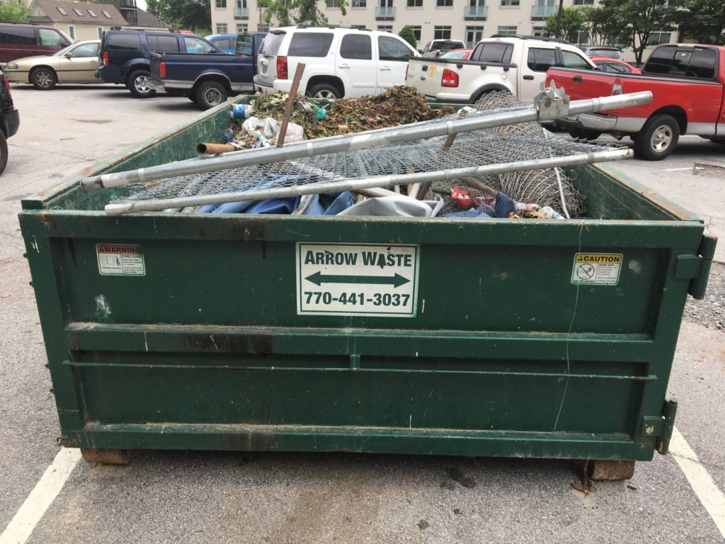 Eviva on Peachtree - Dumpster