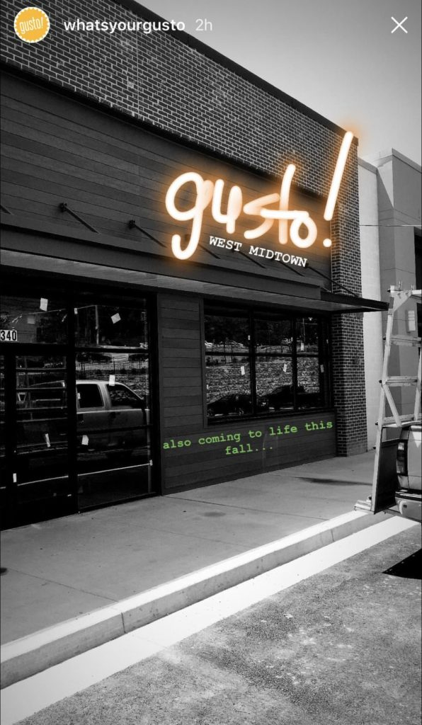 Gusto! West Midtown Center