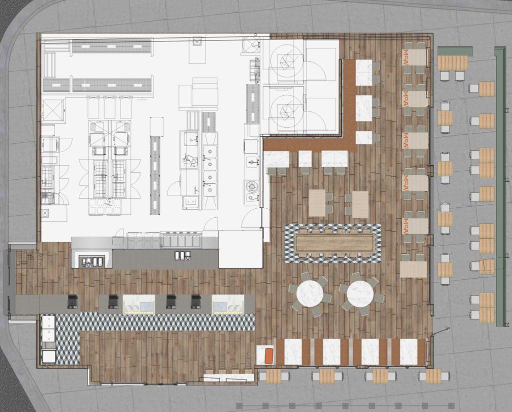 McAlister's Deli - West Midtown Center - Floor Plan