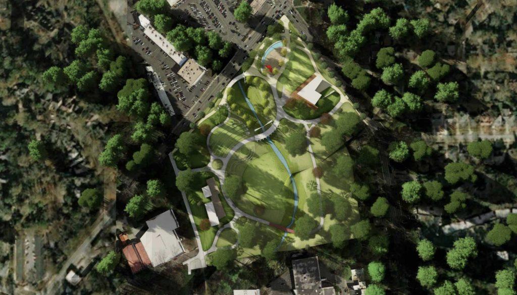 Piedmont Park Expansion Rendering 3