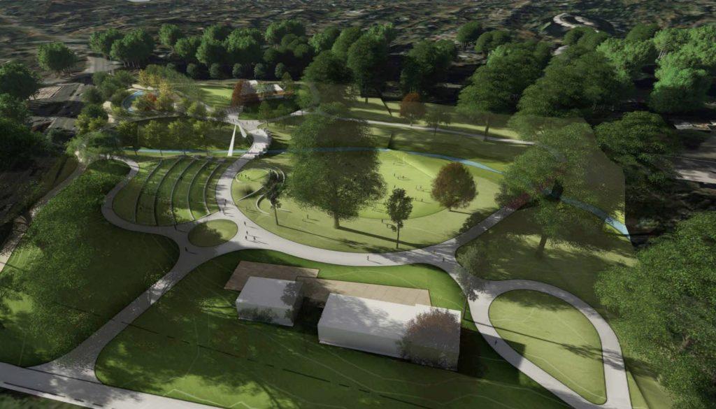 Piedmont Park Expansion Rendering1
