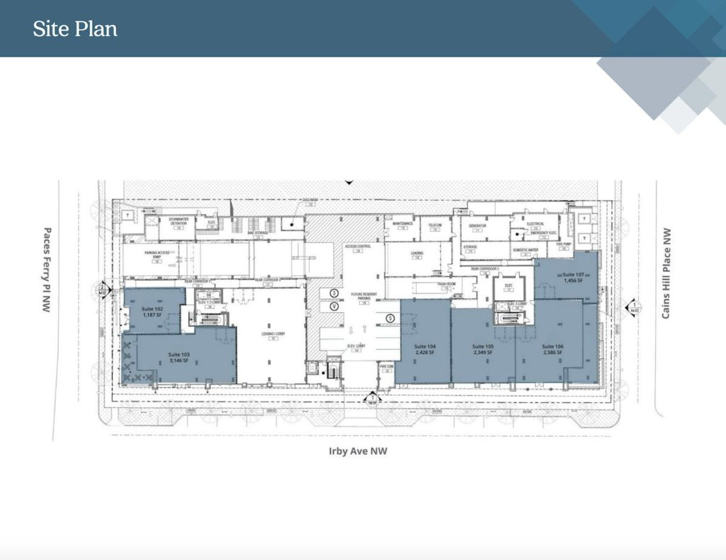 The Irby - Site Plan
