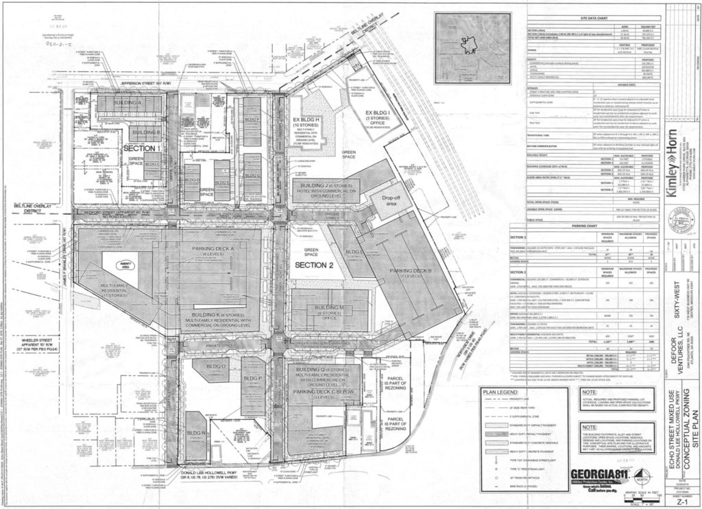 Westside Yards Conceptual Site Plan