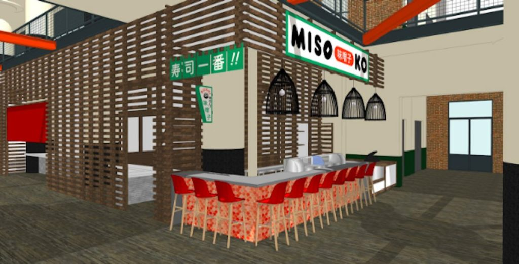 Miso Ko Rendering - Ponce City Market