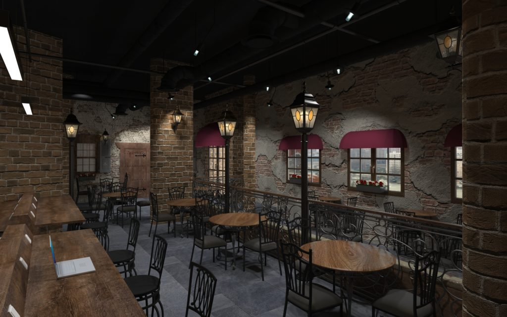 Rozina Bake House and Coffee Rendering 1