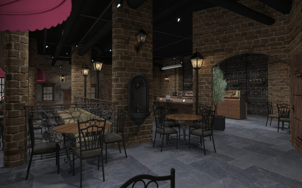 Rozina Bake House and Coffee Rendering 2