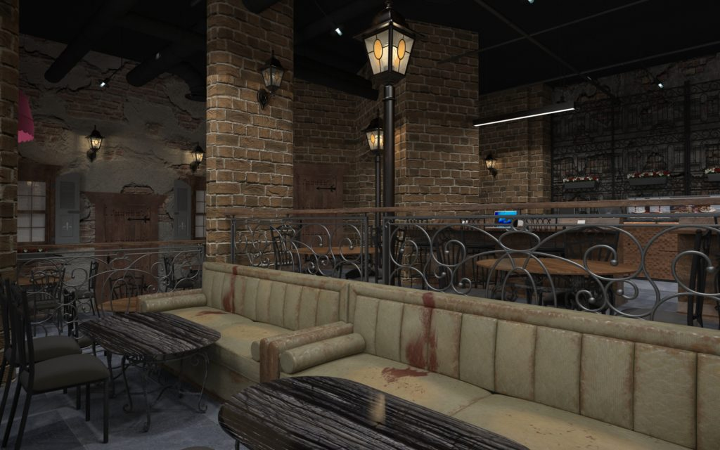 Rozina Bake House and Coffee Rendering 3