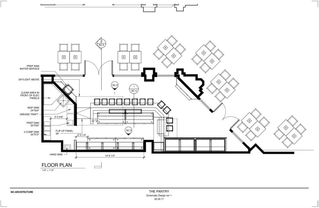 The Pantry Atlanta - Site Plan