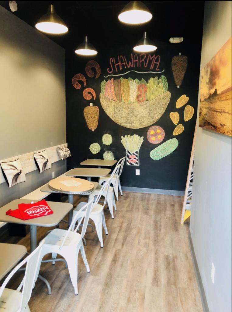 Shawarma Non-Stop Interior