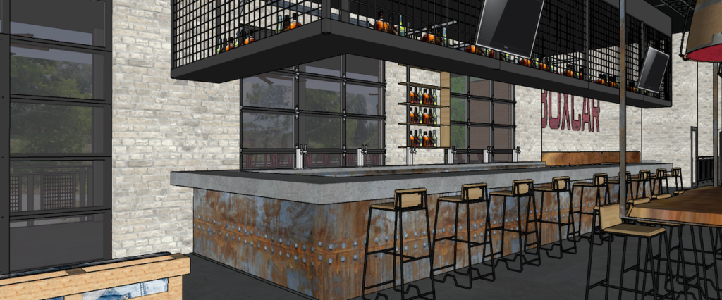 Boxcar at Hop City Rendering 5