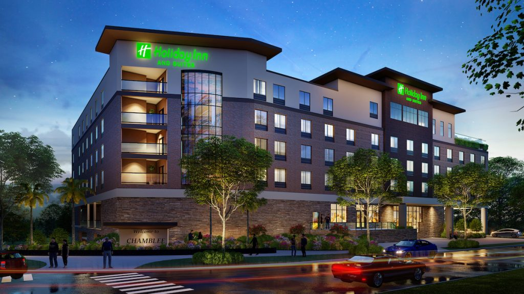 Chamblee Holiday Inn and Suites Rendering 1