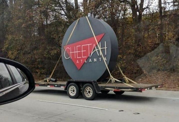The Cheetah Sign Atlanta