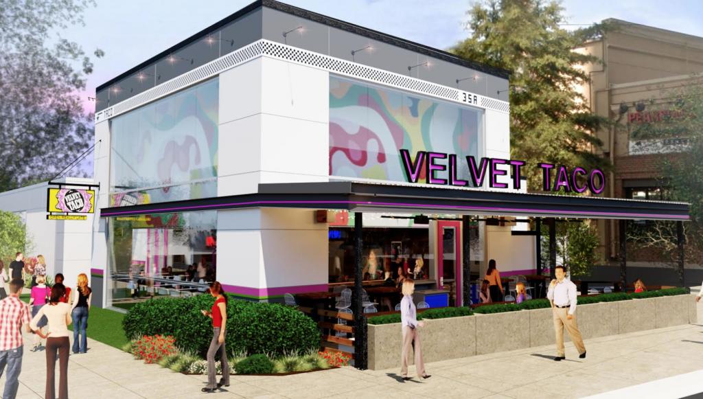 Velvet Taco Rendering