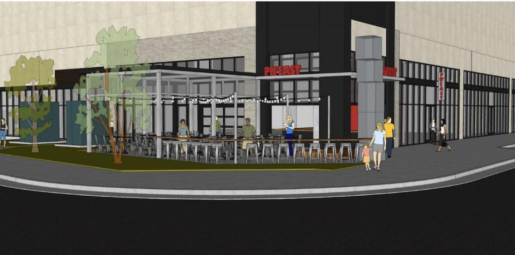 Taps at Ph'East -Rendering 1