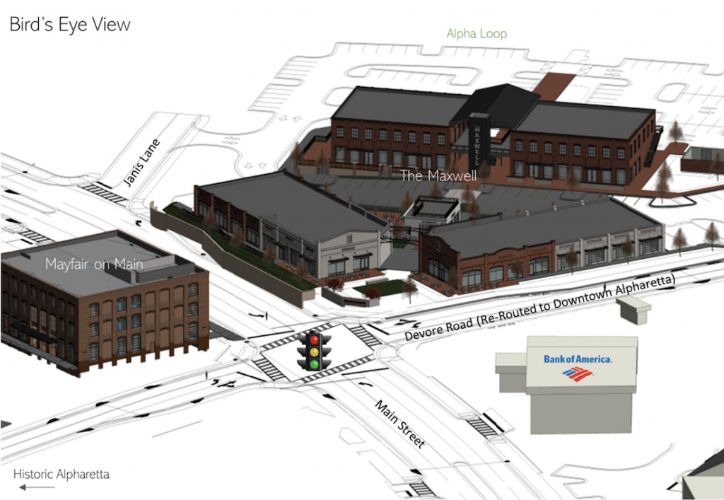 The Maxwell Site Plan 2