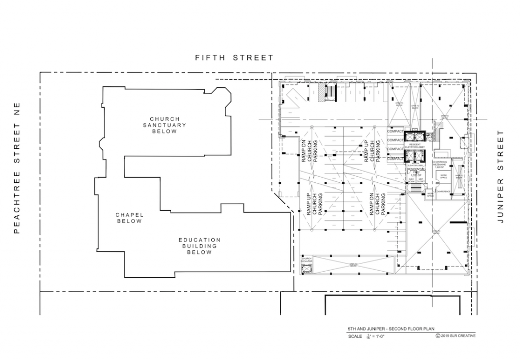 121 5th Street - Site Plan 1
