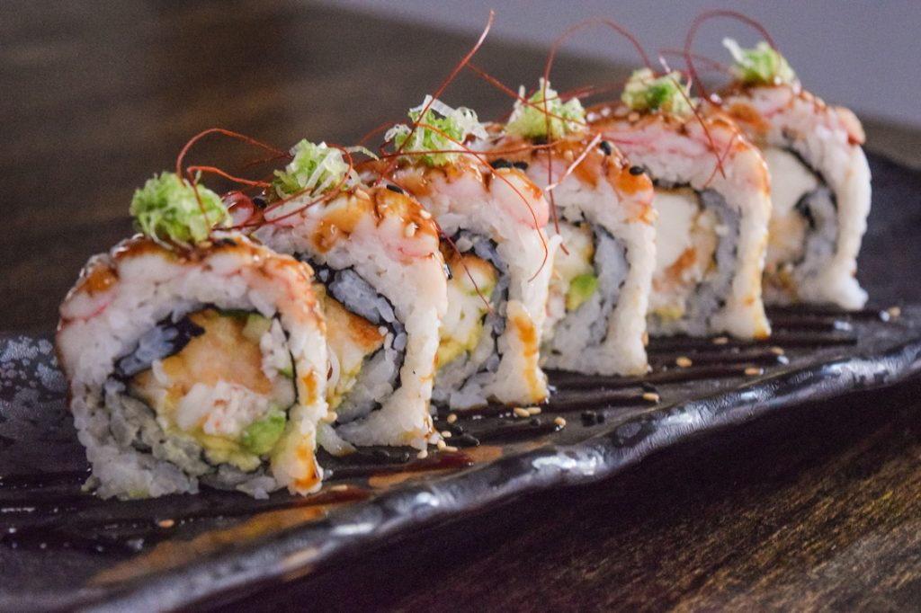 Monkey 68 Kitchen and Bar Sushi Roll