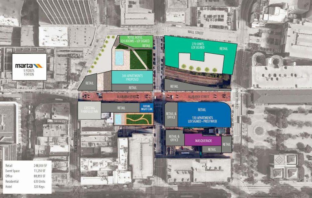 Underground Atlanta - Updated Site Plan