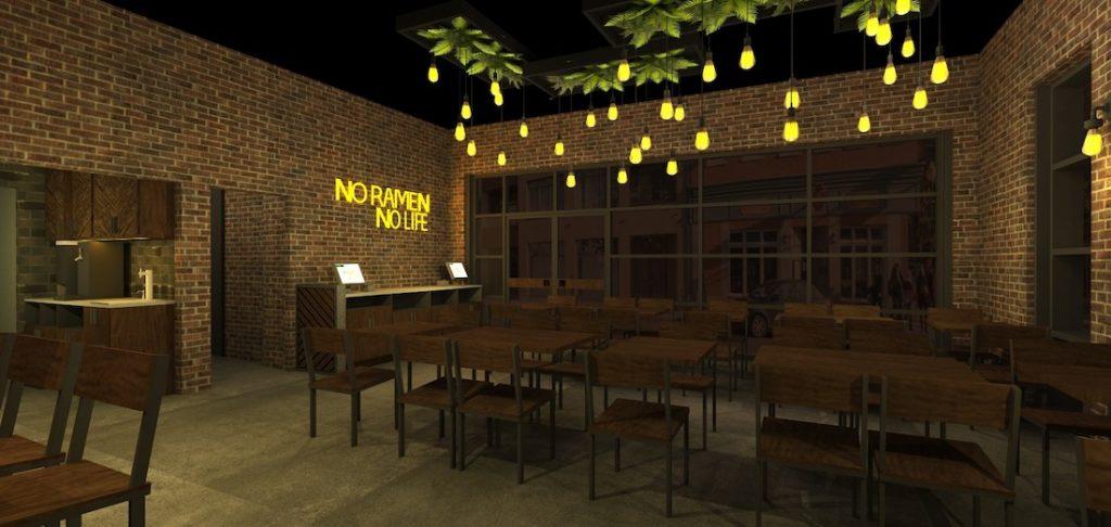 Jinya Ramen Bar - Poncey-Highland Rendering 2