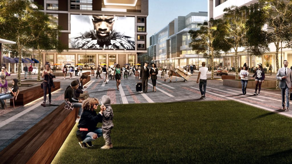 West End Atlanta Rendering