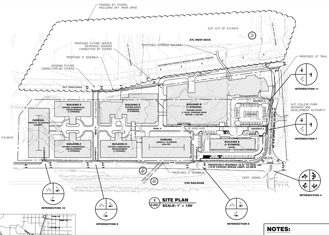 Choice Gateway - College Park - Site Plan