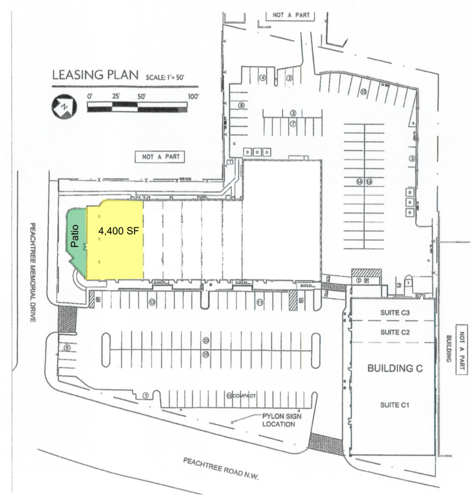 Panera Bread - Peachtree Square Site Plan