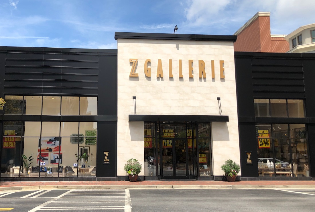 Z Gallerie Atlantic Station Closing - Photo by Steven Crofut