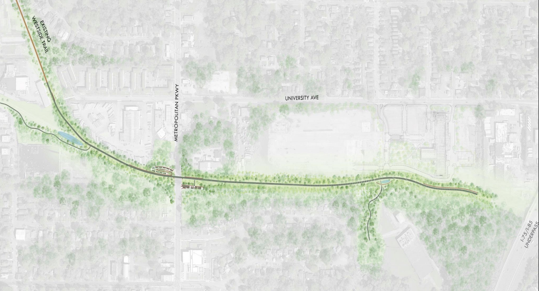 Southside Trail - Atlanta Beltline - Segment 1