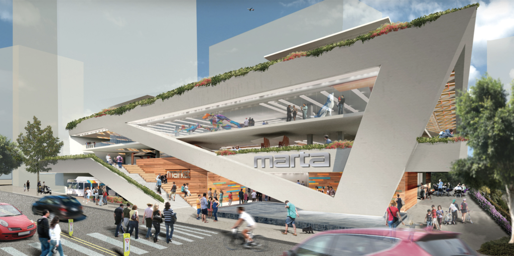 Midtown MARTA Redevelopment Concept