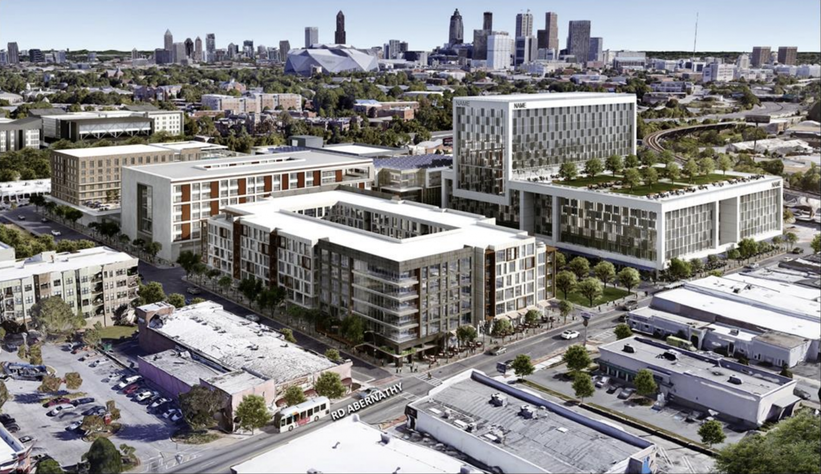 West End Atlanta Rendering 1