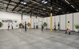Saltbox Warehouse Unit Rendering