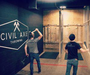 Civil Axe Throwing - The Beacon Atlanta