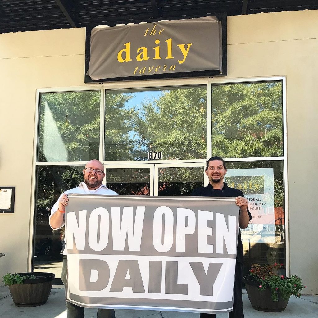 The Daily Tavern Now Open