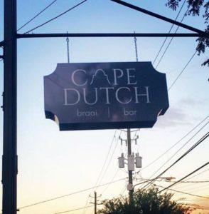 Cape Dutch - Closed