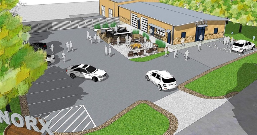 Norx Brewery Norcross Rendering