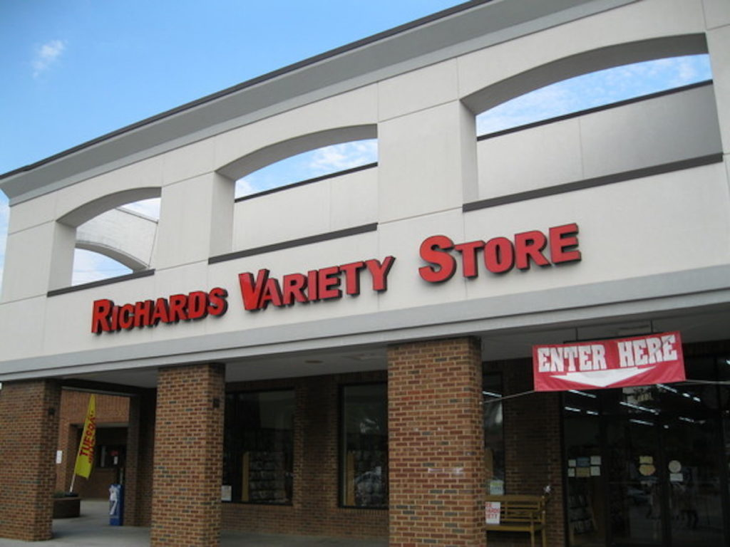 Richard's Variety Store - Ansley Mall - Pier 1
