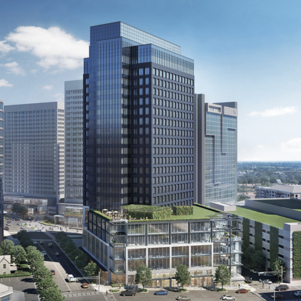 The Campanile Building - Expansion - Rendering 1