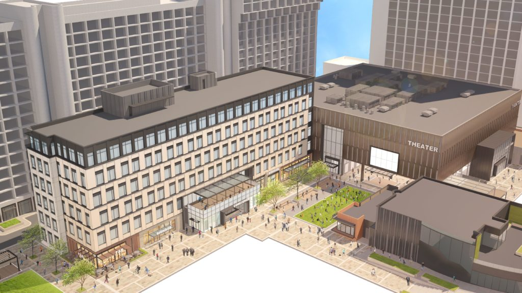 Colony Square Rendering