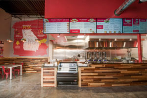 Pita Mediterranean Street Food Interior