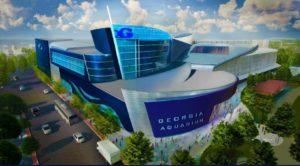 Georgia Aquarium 1015 Level Cafe Expansion