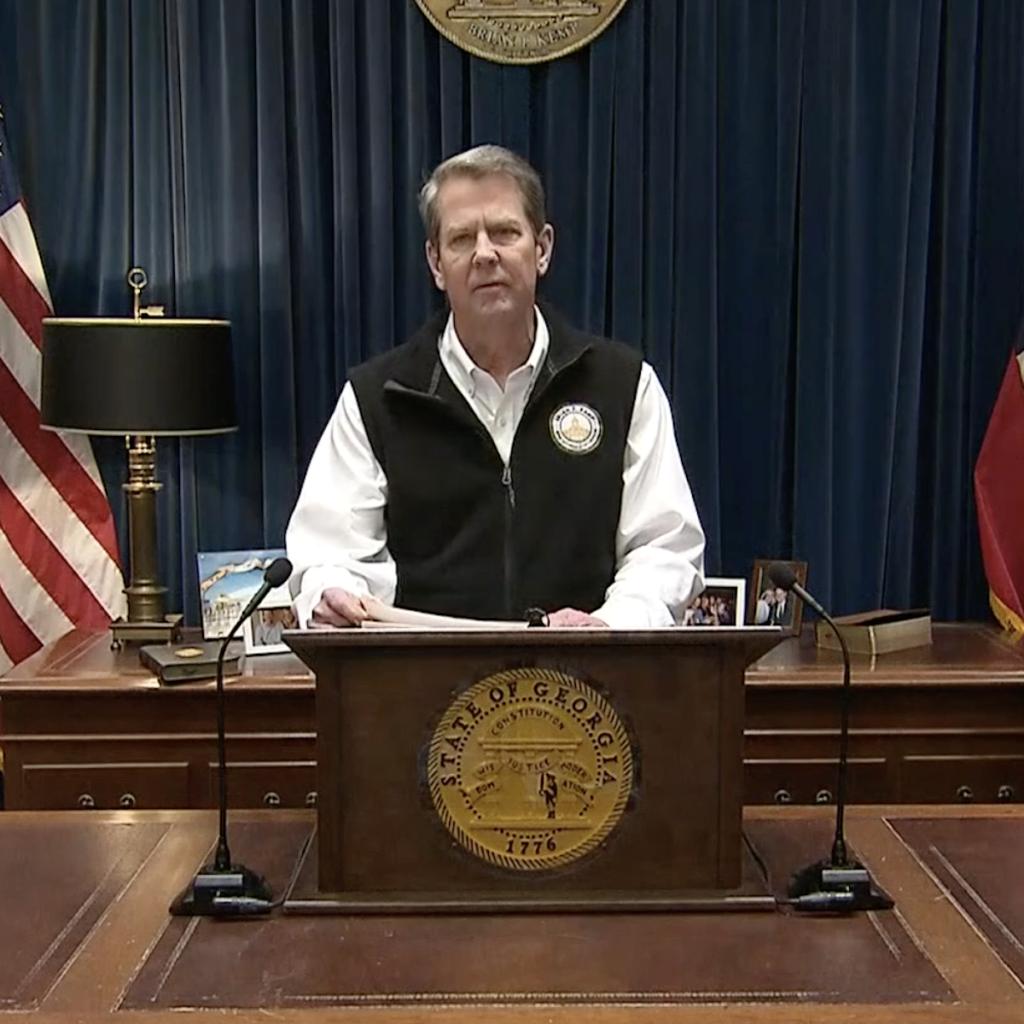 Governor Brian Kemp - COVID-19