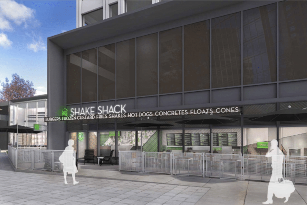 Shake Shack Colony Square Rendering